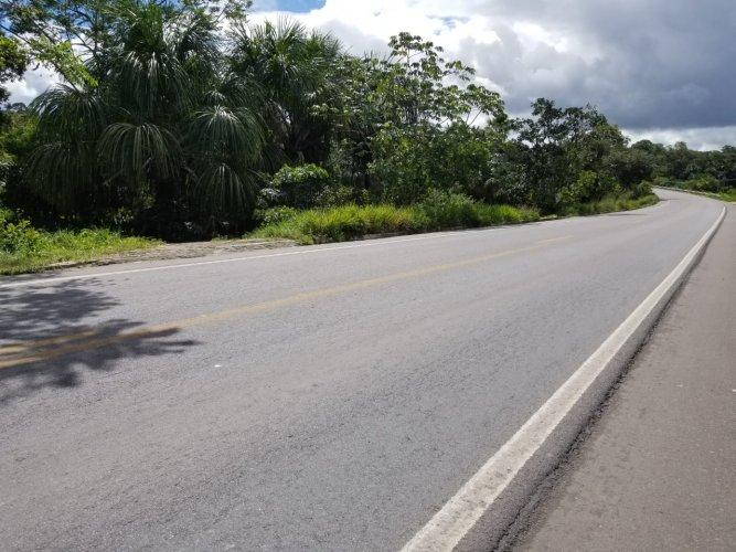 Terreno 25 x 800  Beira Pista BR 174 KM 6 Fonte Agua Documentado Parcela Troca. -Classificados de Imóveis Venda Aluguel Compra Avaliação classificados de imóveis manaus aluguel imóvel classificados am